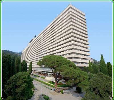 Hotel «Yalta-Intourist», Yalta city
